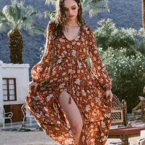 Spell & The Gypsy   Gypsy Dancer Gown in Maple